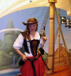 Me as a pirate in 2012