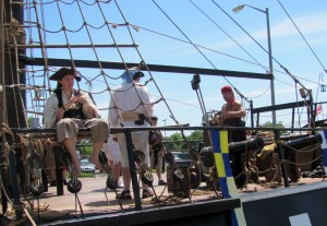 Pirates at the Northern California Pirate Festival 2012