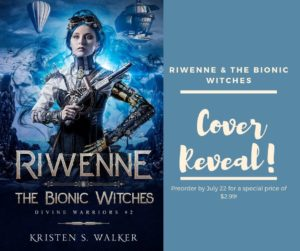 Cover Reveal: Riwenne & the Bionic Witches