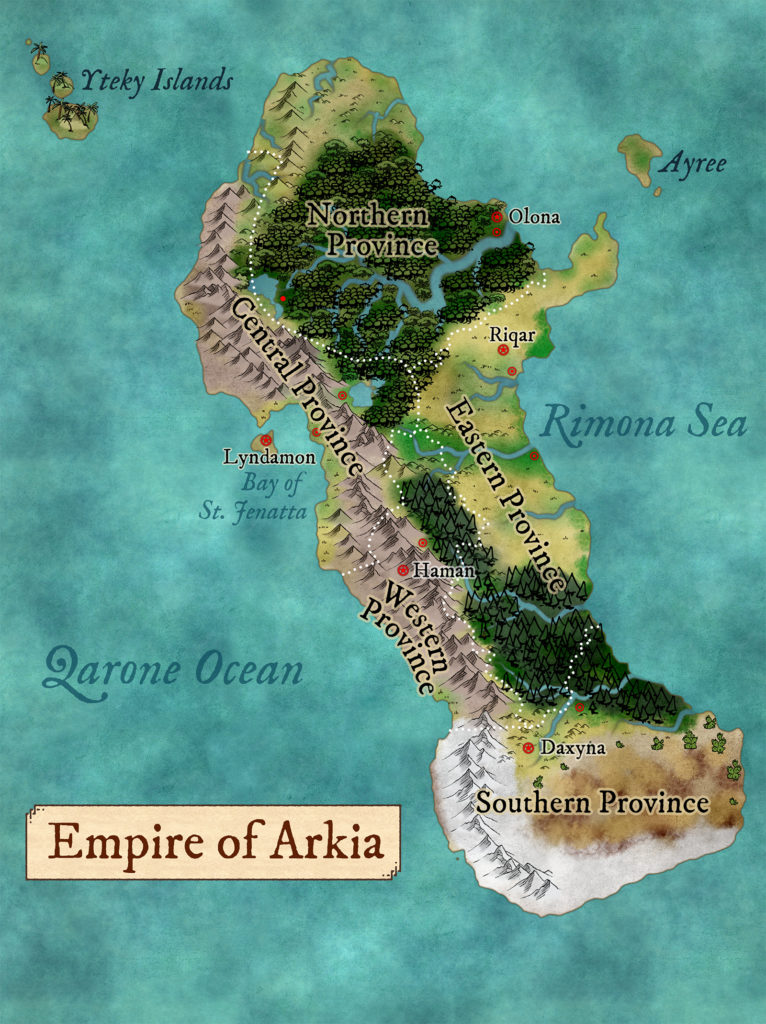 Map of Arkia