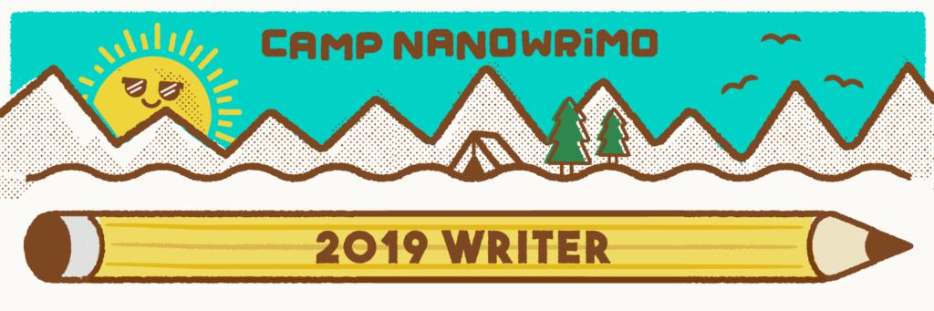 Camp Nano 2019 writer