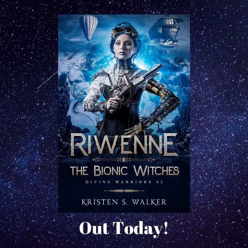 Riwenne & the Bionic Witches out today