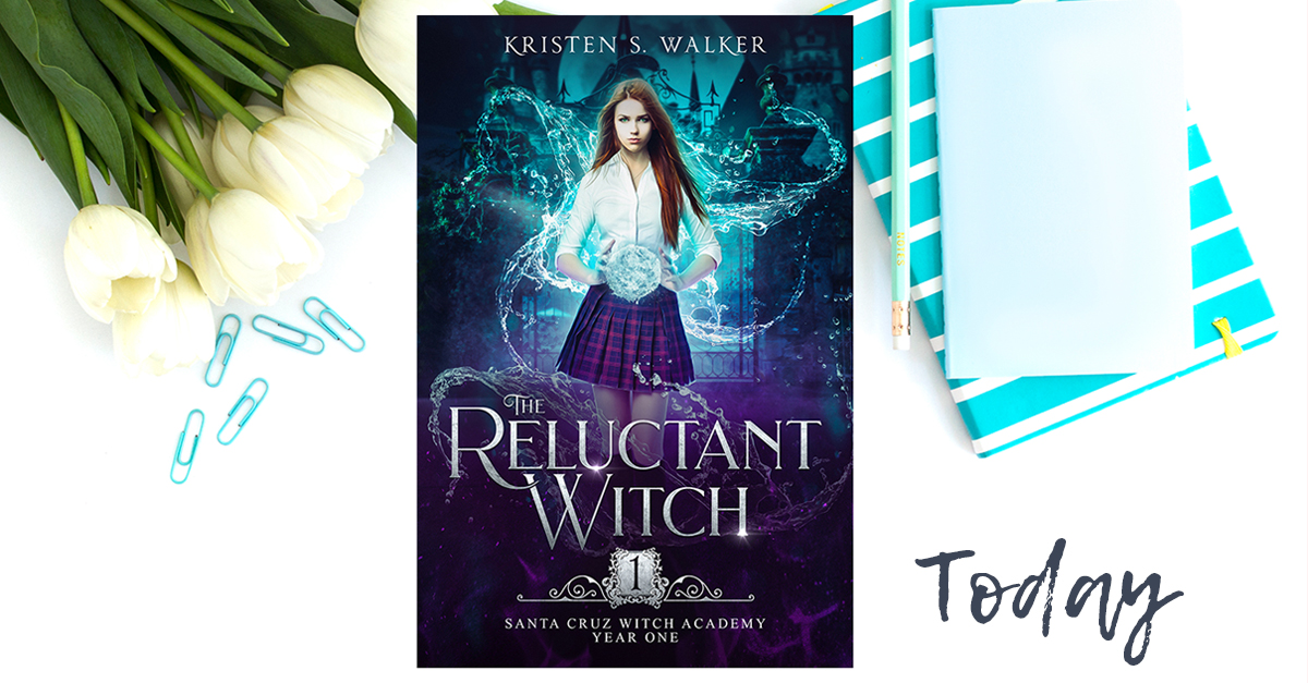 New Release: The Reluctant Witch!