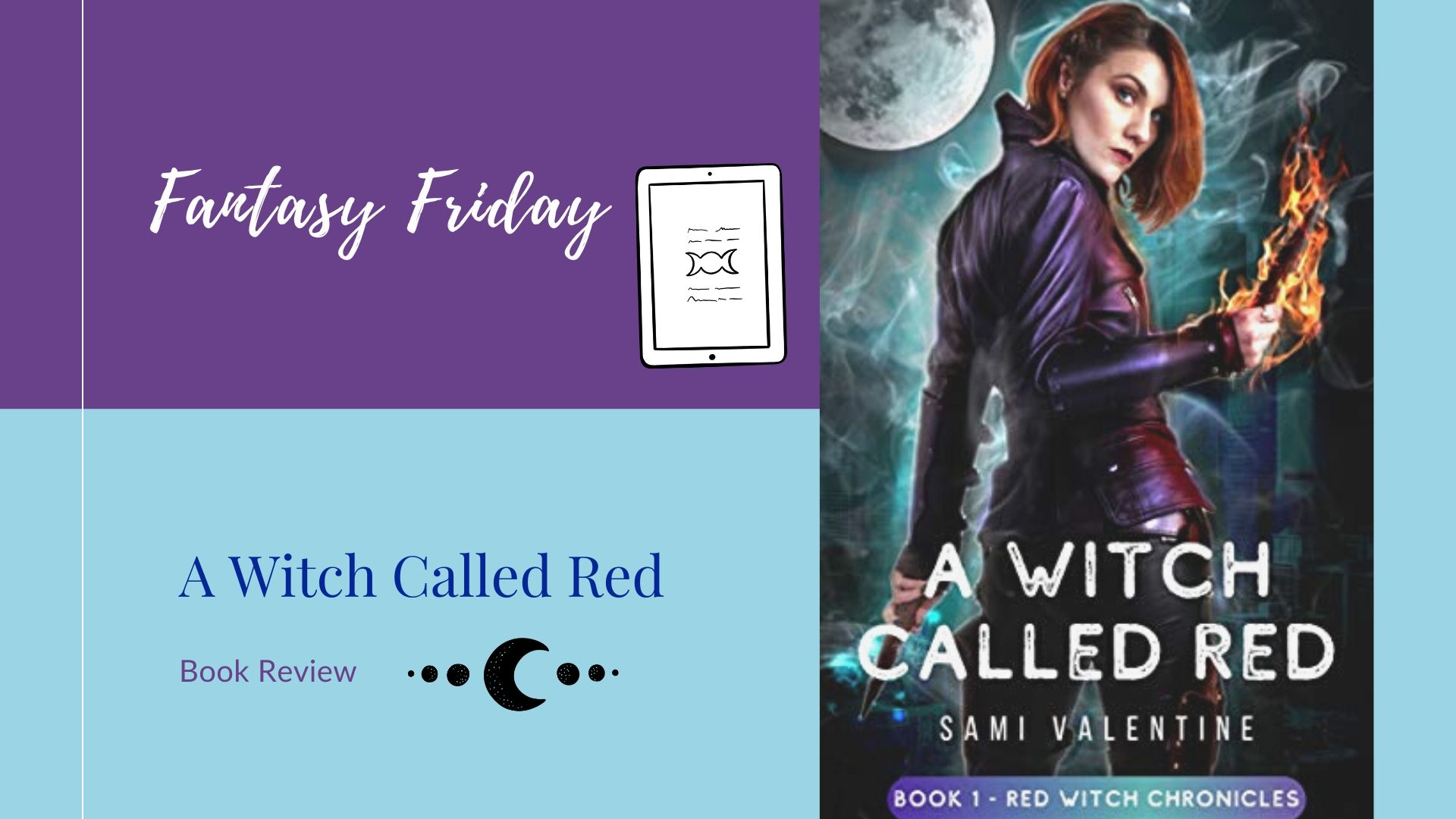 Review: A Witch Called Red by Sami Valentine