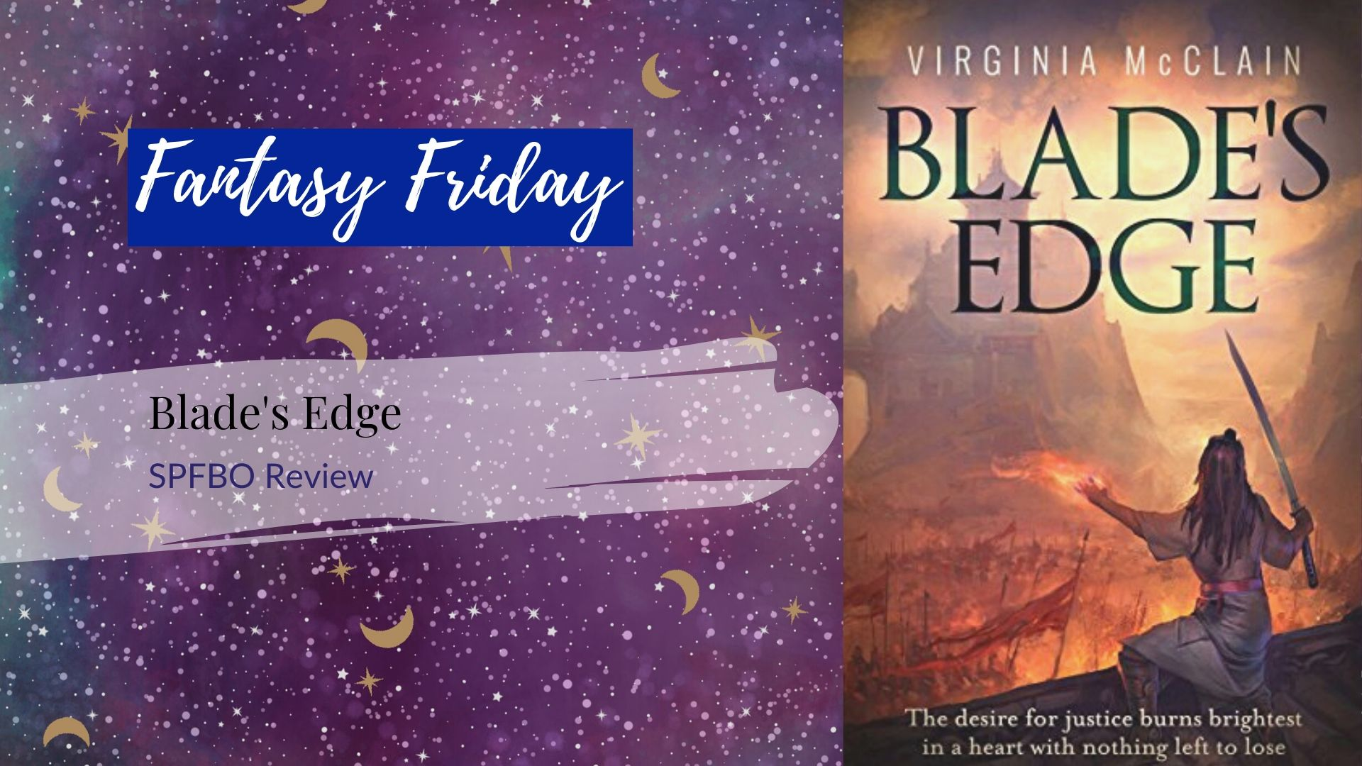 #SPFBO Review: Blade's Edge by Virginia McClain