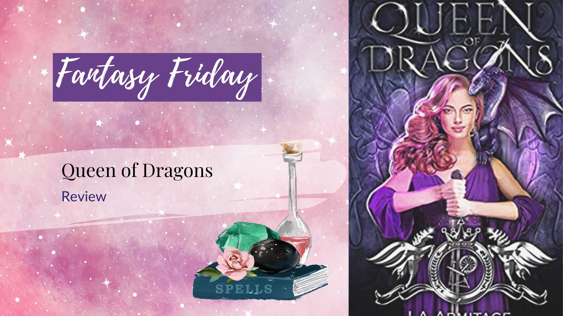 Fantasy Friday: Queen of Dragons by J. A. Andrews