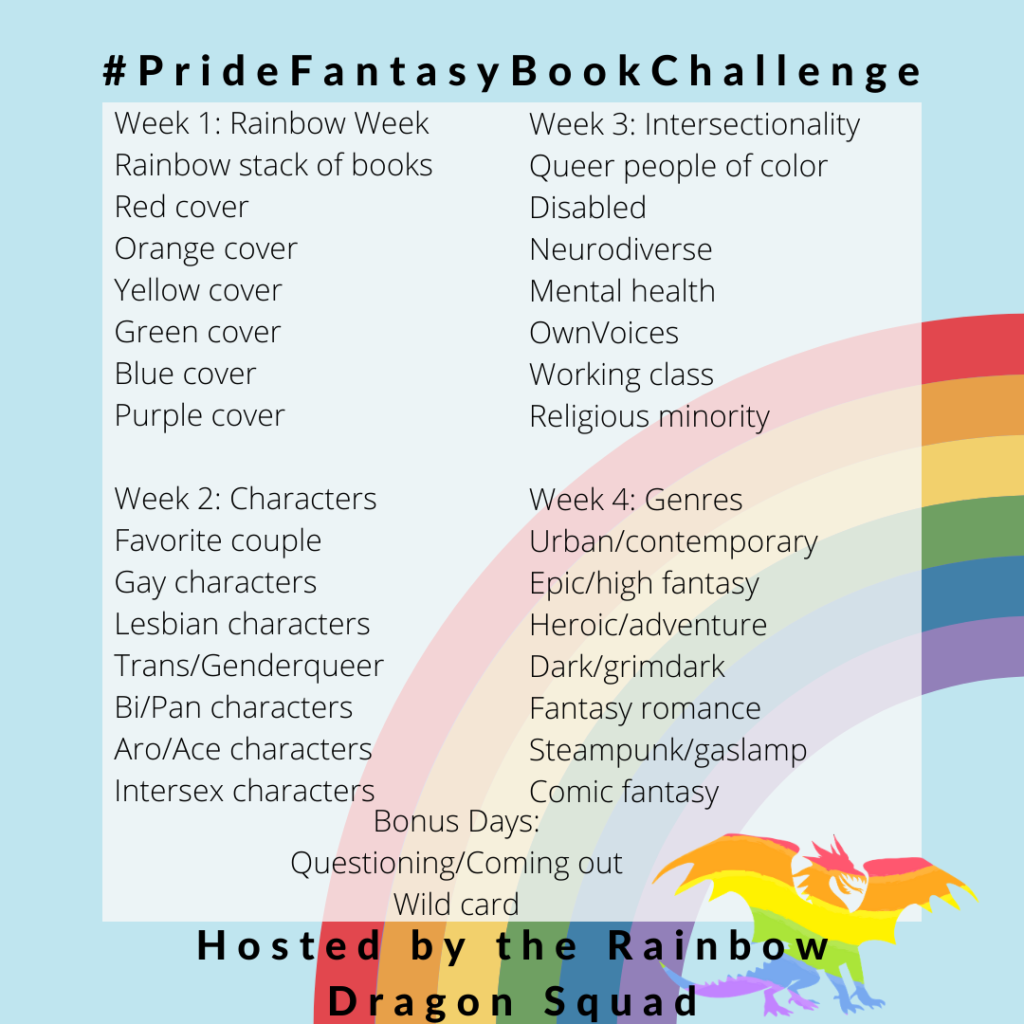 Pride Fantasy Book Challenge