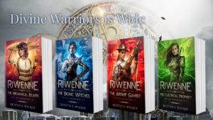The Divine Warriors Series is Wide!