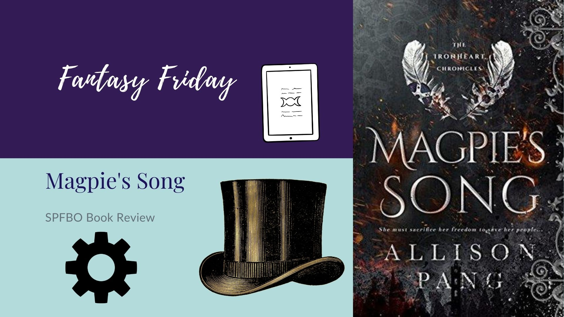 Fantasy Friday: Magpie's Song by Allison Pang