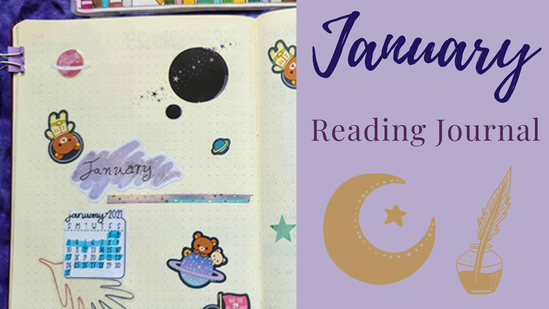 January Reading Journal: Space Theme